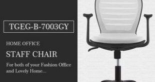 Comfort Mesh Home Office Swivel Height Adjustable Task Chair (Black)