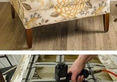 How to Reupholster an Armchair Video