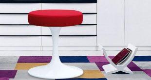 Fine Mod Imports Flower Stool Chair