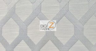 2 Tone Lattice Drapery Polyester Fabric - SILVER - Sold By Yard Sofa Curtains Home Decor Bedding Furniture Upholstery Chairs