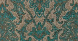 Upholstery Fabric, Drapery Fabric, TuscanFabric, ChenilleFabric, Turquoise Damask/Jacquard Fabric, Traditional Fabric, Fabric Yard/Half Yard