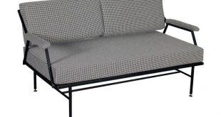 1stdibs Sofa - Padding Structure Vintage Italy 1960S Italian Mid-Century Modern Metal, Fabric, Foam