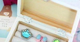 19 Ideas How To Organize Earrings Kids