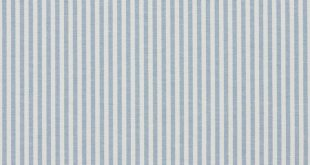 Cornflower Ticking Light Blue and White Small Scale Denim Drapery and Upholstery Fabric