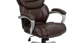 Flash Furniture High Back Brown Executive Office Chair