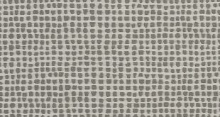 Grey and White Abstract Damask Upholstery Fabric