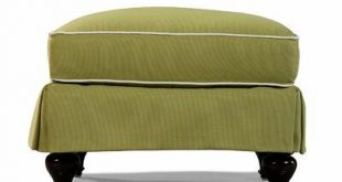 Lane Venture Colin Outdoor Upholstery Ottoman with Cushion Cushion Color: Vesper Fossil