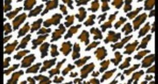 Leopard Upholstery Pattern (1970's)