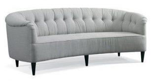 Precedent Furniture Amelia Sofa Finish: Dove, Upholstery: Luxor Indigo