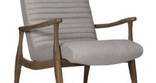 Precedent Furniture Erik Armchair Leg Color: Fruitwood, Upholstery Color: Wildwo...