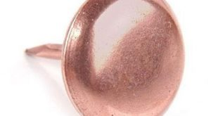 Restorers Copper Upholstery Tack - 1/2 Inch