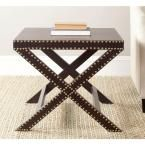 Safavieh Jeanine Charcoal End Table, Grey
