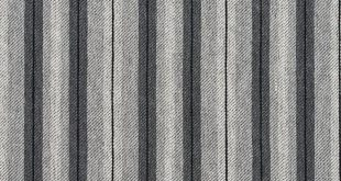 Sterling Gray and Silver Stripe Country Damask Upholstery Fabric