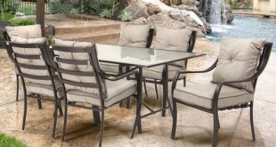 Sweetman 7 Piece Dining Set with Cushion