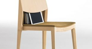 Vicent Martínez Designs Stackable Wooden Chair Isa for Capdell